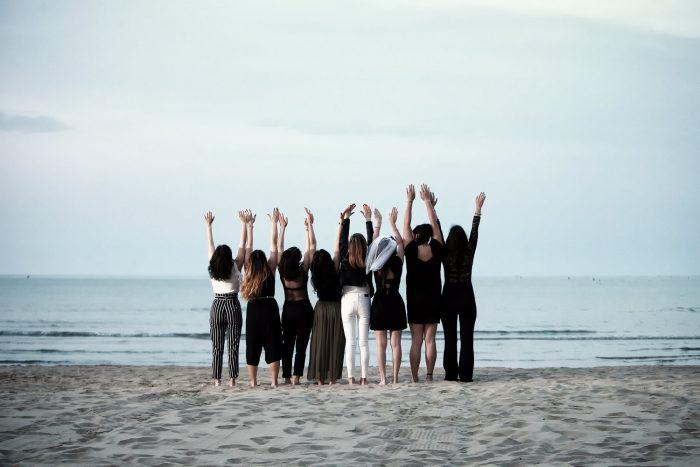 Fotografare sulla spiaggia di Giulianova
