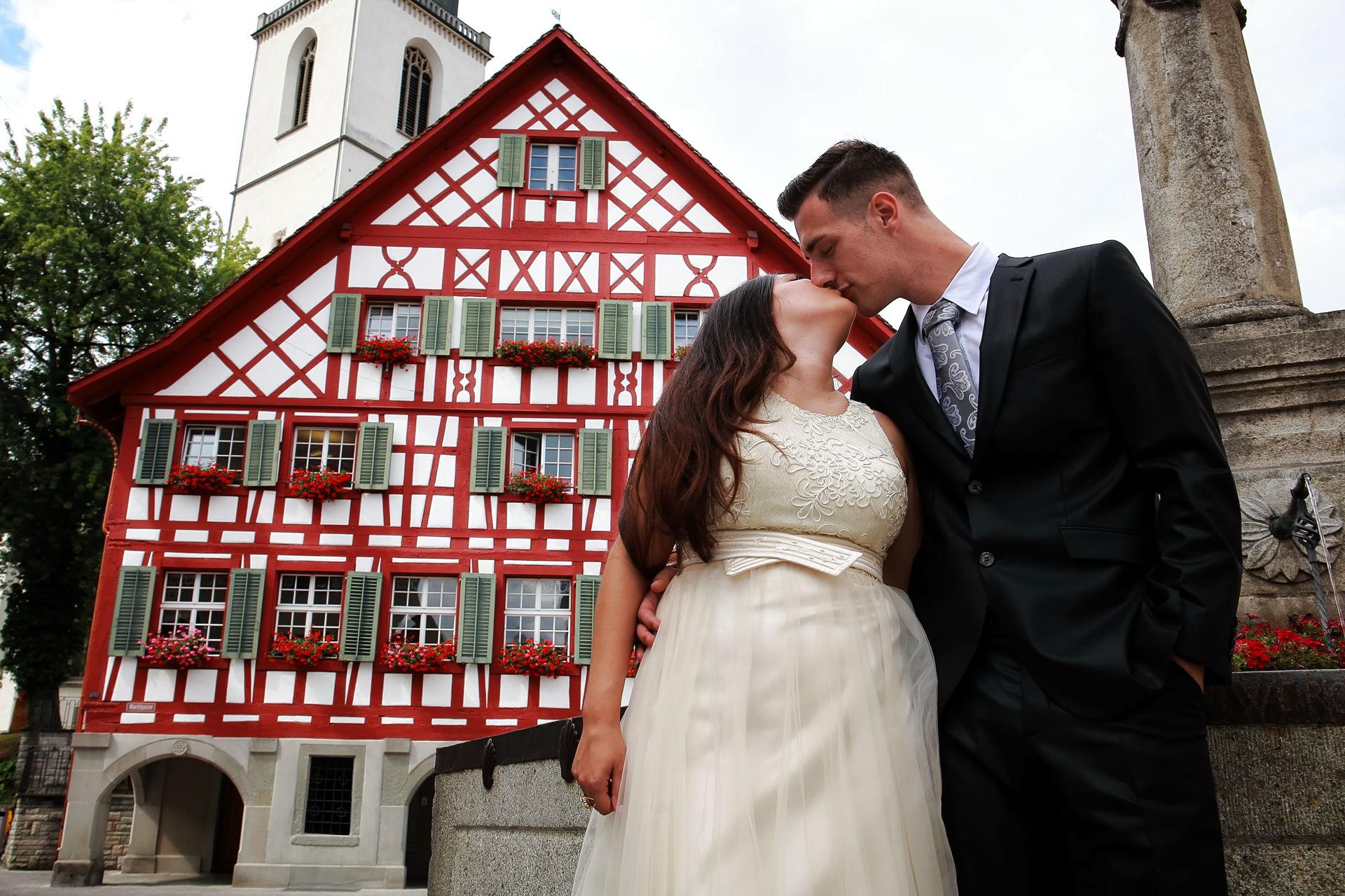 Fotografo matrimonio a Bülach, Zurigo, Svizzera, servizio fotografico nozze, wedding reportage photography,