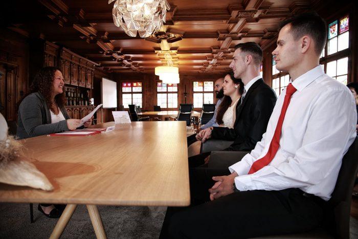 Matrimonio in comune a Bülach in Svizzera,