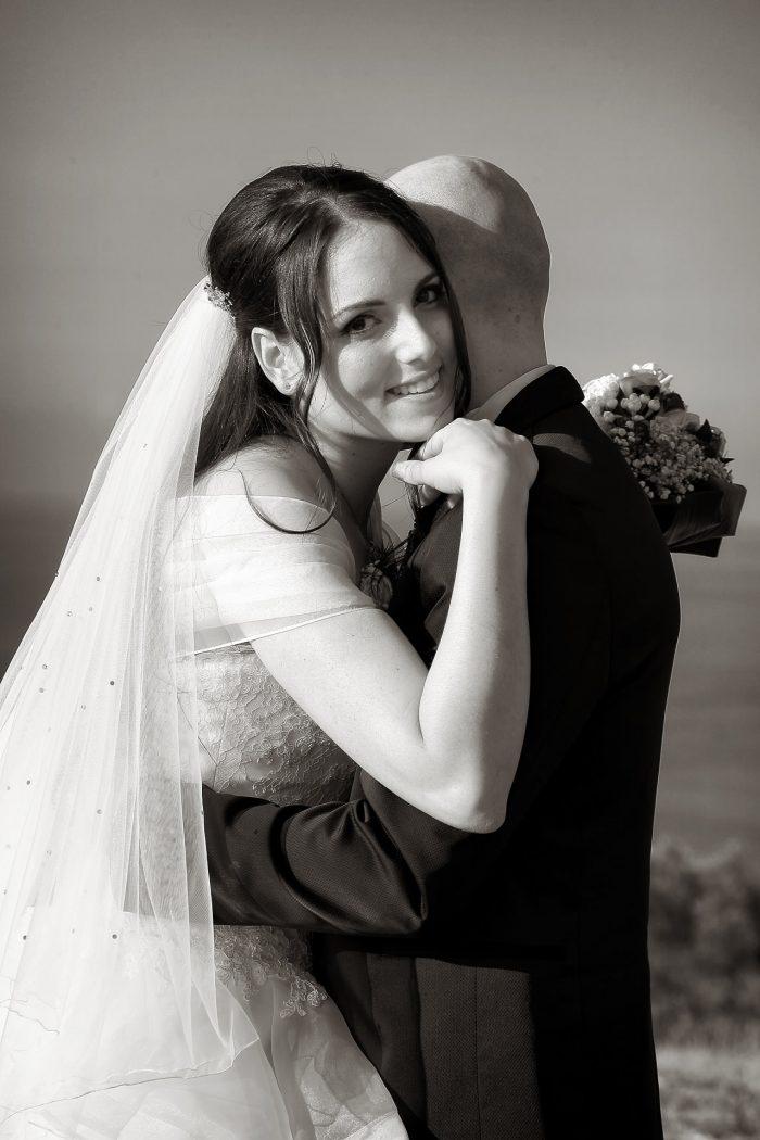Uno sguardo al fotografo del servizio matrimoniale