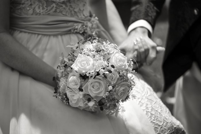 Dettagli del matrimonio, il bouquet della sposa
