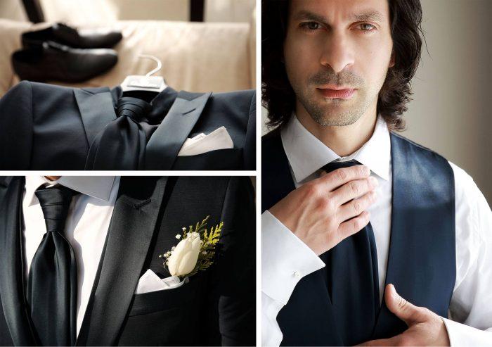 Prova vestito sposo